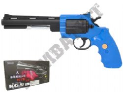 KG9 Metal Airsoft BB Gun Black and Blue